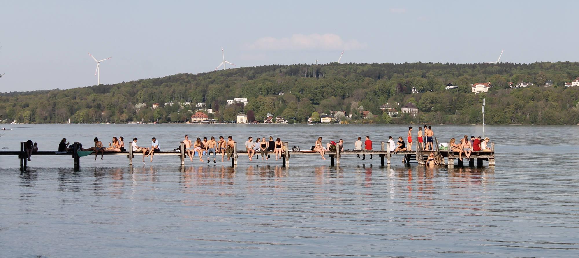 Baden im Starnberger See: Badeplätze und Strände