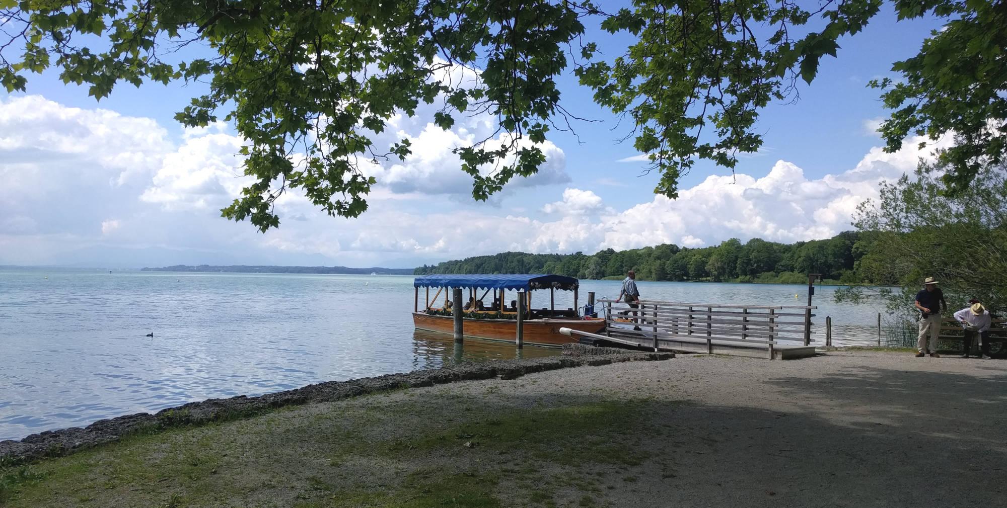 Roseninsel Fähre am Starnberger See
